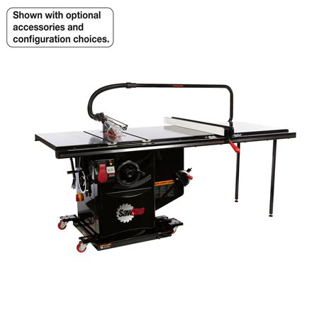 sawstop industrial cabinet saw review sawstop ics51230 36 5 hp 230v 60 hz cabinet saw with 36