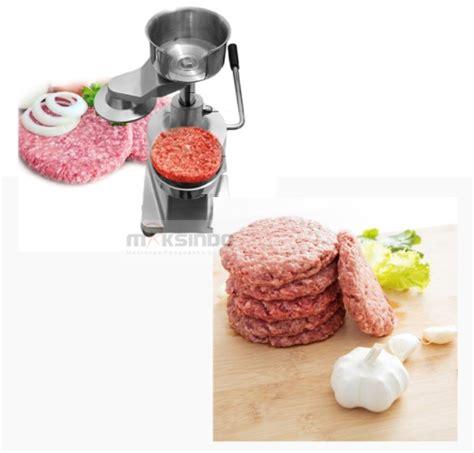 Mesin Untuk Mencetak Hamburger Manual Alat Pembuat Hamburger jual alat pencetak hamburger manual hbp15 di tangerang toko mesin maksindo bsd tangerang