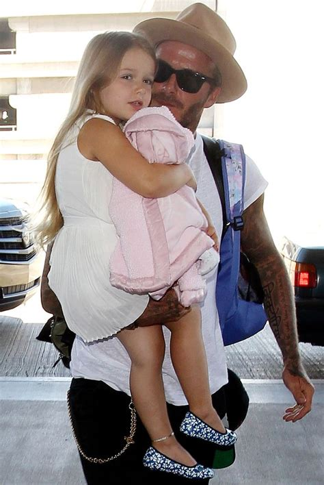 David Beckham banned wife Victoria from cutting Harper?s