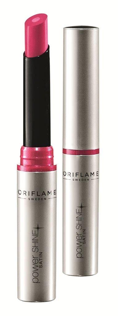 Me Lip Gloss Oriflame conquer with oriflame power shine satin lipstick
