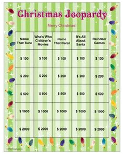 printable jeopardy games 1000 images about activity ideas for retirement