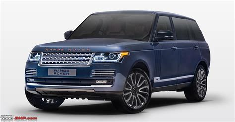cost of range rover in india range rover autobiography by svo bespoke launched in india
