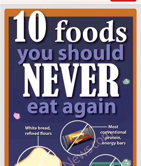 10 Foods Should Eat More by 10 Foods You Should Never Eat Again