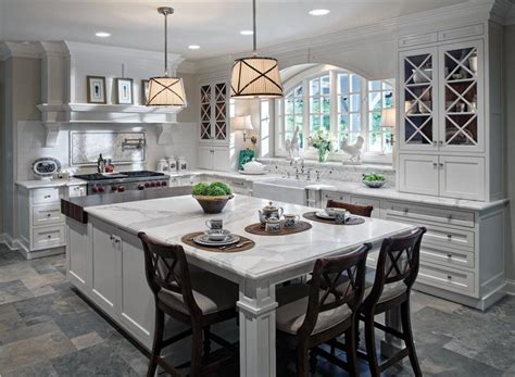 Classic Traditional Kitchen by Drury Design