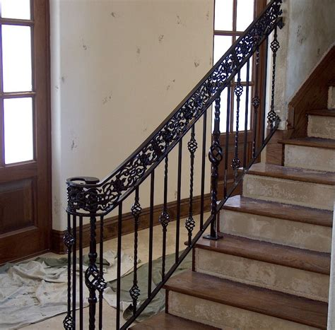 wrought iron stair railing wrought iron stair railing