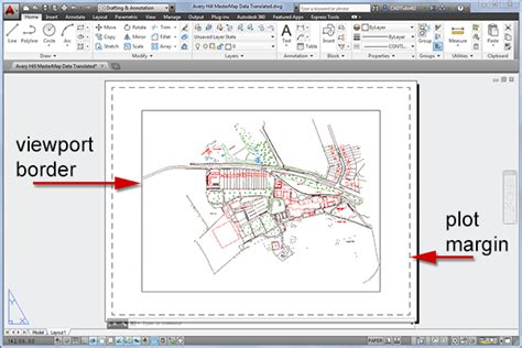 autocad layout viewport border autocad free tutorial e book and information training