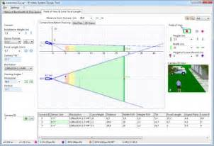 Online Scale Drawing Tool cctv camera lens calculations