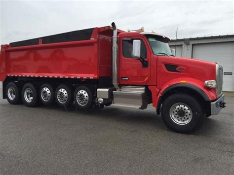peterbilt dump truck peterbilt 567 dump trucks for sale 126 used trucks from