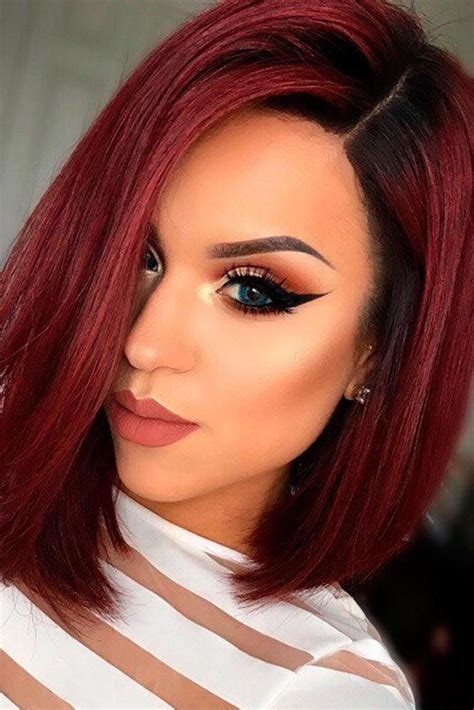 hairstyles red and black hair 20 collection of red and black short hairstyles