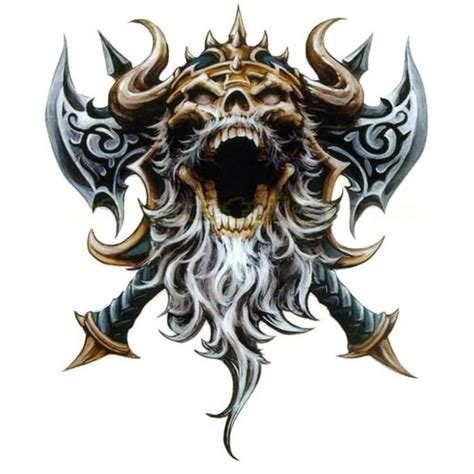 tattoo ideas viking 31 viking skull designs and images ideas pictures