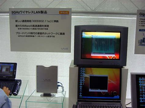 Tv Fujiwa world pc expo 2001会場レポート