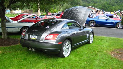 slammed chrysler crossfire yellow 1935chevy 2004 chrysler crossfirelimited coupe 2d