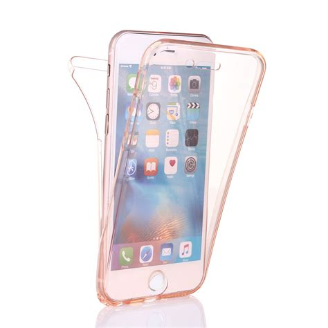 Ultrathin Tpu Series For Iphone 7 7 Plus ultra thin 360 176 protective cover soft tpu clear for iphone 7 plus 6s 5 ebay