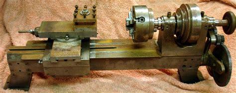 Handmade Lathe - metal lathe plans
