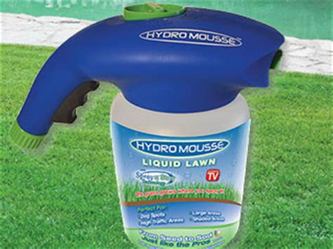 hydro mousse liquid lawn grass grows where you spray it