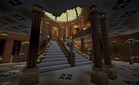 Minecraft Stairs Design Titanic Grand Staircase Minecraft Project