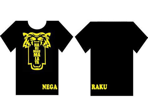 design baju harimau malaya contoh design mohcetakbaju com