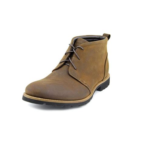 chukka boot rockport charson suede brown chukka boot boots