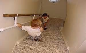 Standard Handrail Height For Stairs Little Steps Handrail Mounts On And Hangs Below A