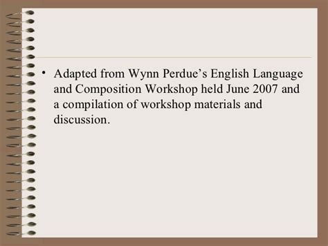 english language and composition section 1 answers 2007 active reading note taking