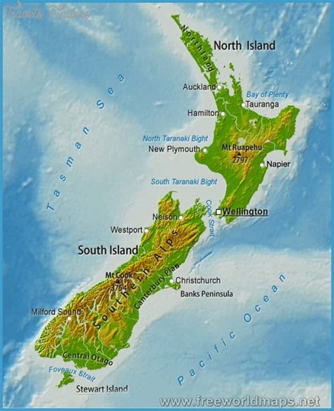 physical map of australia and new zealand physical map of australia and new zealand travelsfinders