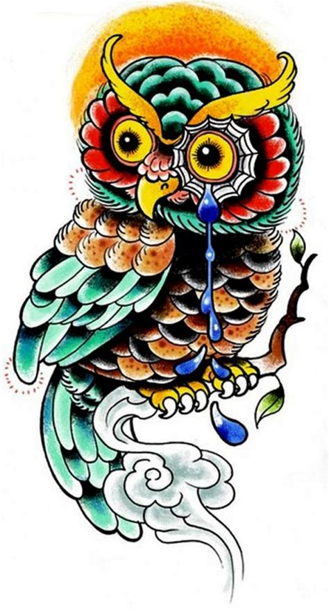 owl tattoo flash cool owl flash tattoos