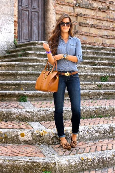 Blouse Denim 3671 must shoes for fall fall winter fashion