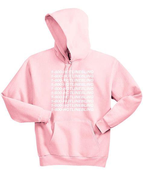 Jakethoodiesweater Hotlinebling Pink pink ovo shirt artee shirt