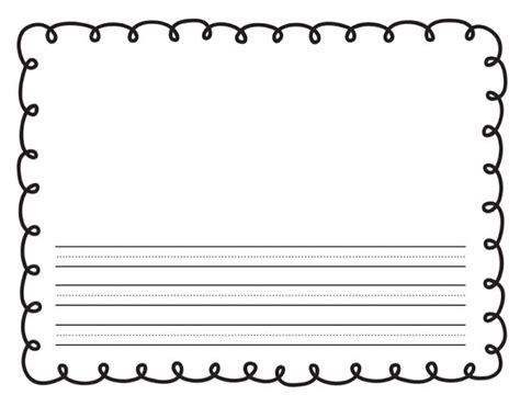 Printable 1st Grade Paper