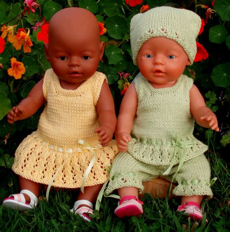 summer baby knitting patterns summer clothes pdf knitting pattern for doll clothes