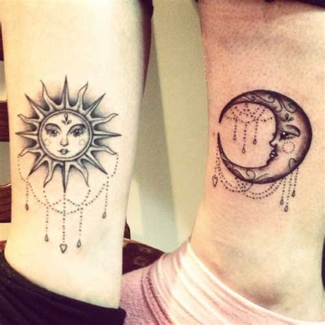 imagenes del sol y la luna para tatuar 35 fotos de tatuagens de sol significados