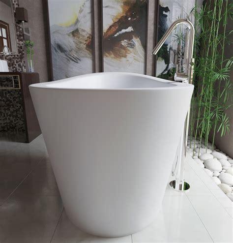 Japanese Bathtub by Aquatica True Ofuro Freestanding Japanese Soaking Bathtub