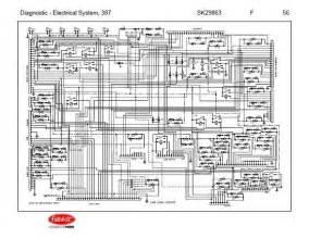 after oct 14 2001 peterbilt 387 complete wiring diagram schematic