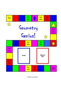 printable math board games for high school geometry genius board game angles solids lines