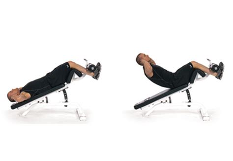 decline bench sit ups the gallery for gt decline dumbbell sit ups
