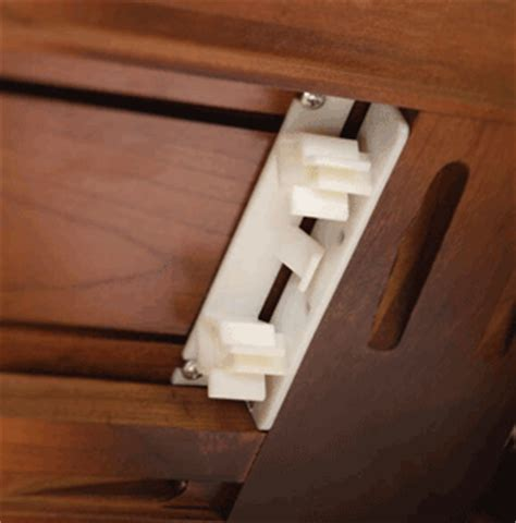 False Drawer Front Hardware by False Drawer Front Clip False Front Clip For Drawers And