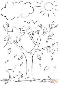 fall tree color page autumn tree coloring page free printable coloring pages