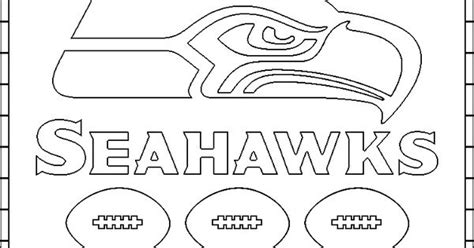 seattle seahawks free coloring pages seahawks and seattle
