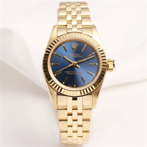 Rolex Oyster Perpetual Gold rolex oyster perpetual 67198 18k yellow gold