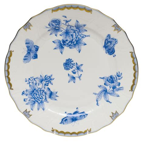 Fortuner J 872 Light Blue fortuna blue dinner plate elizabeth bruns inc