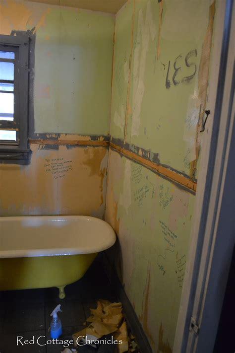 bathroom chronicles bathroom progress red cottage chronicles
