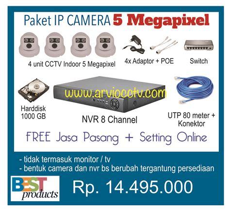 Paket Cctv 4channel Hi Sharp 2 0 Megapixel 1080p Hd jual ip cikarang cctv cikarang