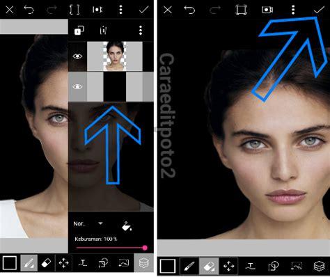 cara tutorial picsart kreasi picsart cara edit foto water splash di android