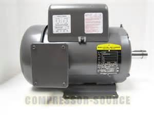 5 hp single phase baldor electric compressor motor 184t frame l1430t 230 volt ebay