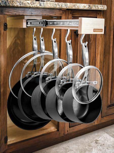 kitchen cabinet organizers for pots and pans glatt aufbewahrung and organisationen on pinterest
