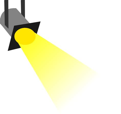 light clipart disco light yellow no outline clip at clker