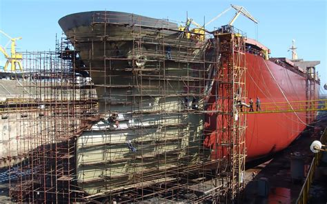 Shipyard Welding by Tough Flux Cored Wire For Shipbuilding And Demanding Offshore Work