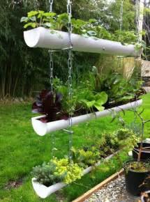 Backyard Privacy Without A Fence 20 Easy Diy Gutter Garden Ideas Garden Decor 1001 Gardens