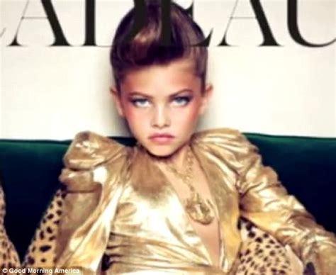 10 yo models 10 year old vogue model s mother shuts down facebook fan