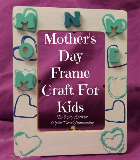 mothers day craft for s day frame craft for